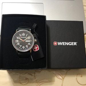 Wenger Accessories - New Wenger Swiss military watch